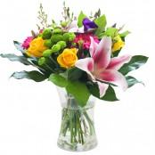 An Elegant Vase Flower Arrangement
