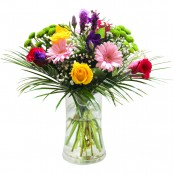 Fresh Morning Hand Tied Bouquet (Vase Not Included)