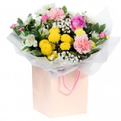 Garden Breeze Hand Tied Bouquet in a Presentation Gift Box