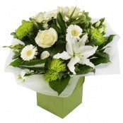 One In A Million Hand Tied Bouquet presented in a Gift Box