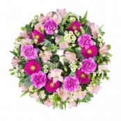 SYM-320 Classic Wreath in Shades of Pink