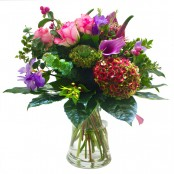 The Country Charm Bouquet (Glass Vase Not Included)