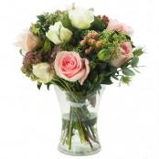 Vintage Flowers in Vase