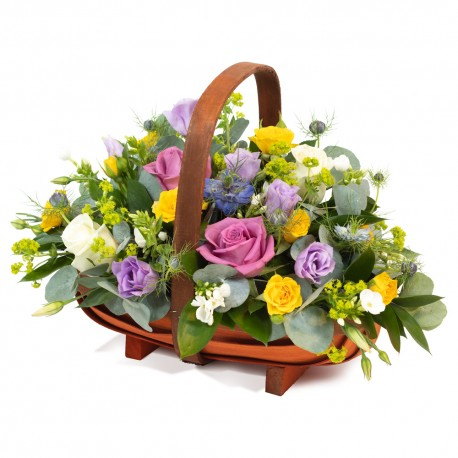 All Aboard Basket Arrangement