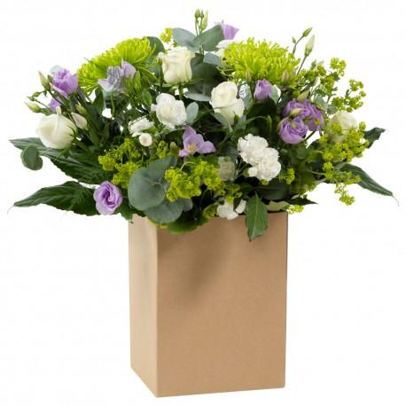 Desert Island Hand Tied Bouquet in Gift Box