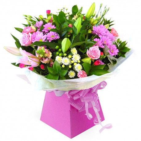 Ashleigh Hand Tied Bouquet in Gift Box