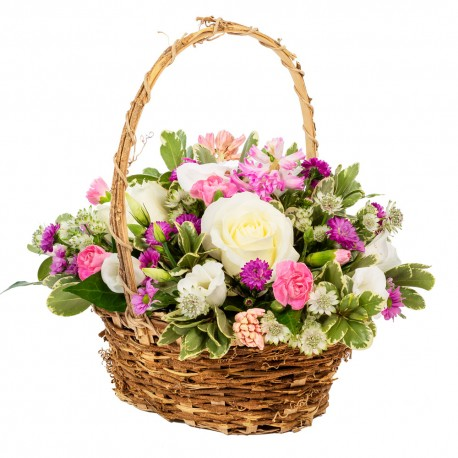 Happy Thoughts Basket Arrangement