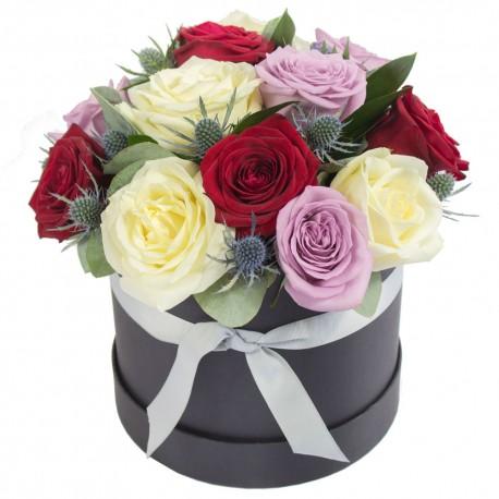 I Love You Hat Box Arrangement