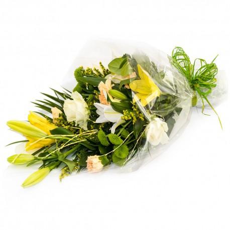 Lemon Sorbet Traditional Bouquet