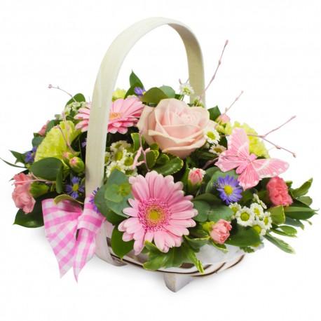 Pretty Perfect Basket Arrangement