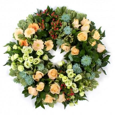 SYM-354 Open Style Wreath on Eco Base