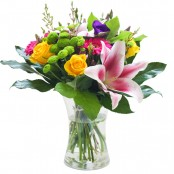 An Elegant Vase Flower Arrangement