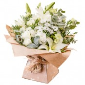Evelyn Hand Tied Bouquet presented in a complimentary Gift Box