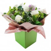 Flower's Dreams Hand Tied Bouquet in a Presentation Gift Box