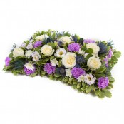 SYM-331 Open Based 46cm Pillow in Lilac & white