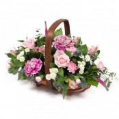 Alicia Fresh Basket Arrangement